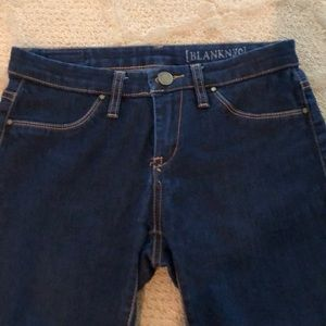 Blank NYC dark denim jeans